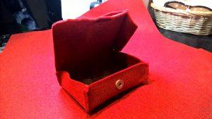 Dėžutė. 13/10/3cm. Sintetinis veltinis.