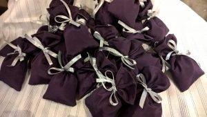 Maži dovanėlių maišeliai (arbatai). 6-11cm.